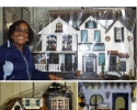 Miniature House Collage Title
